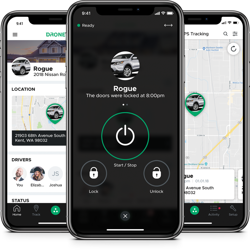 DroneMobile | Smartphone Remote Start, Security, and GPS Tracking